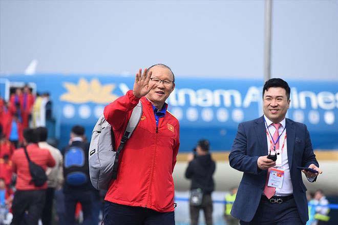 HLV Park Hang Seo quay lại Việt Nam: Tiết lộ điều mong mỏi với báo chí Hàn Quốc