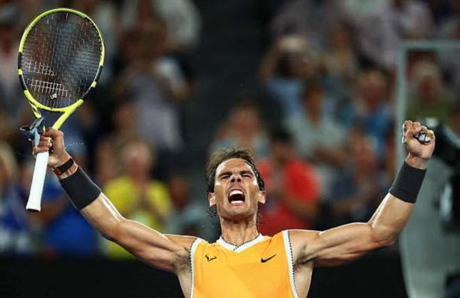"""Siêu sao tennis: Nadal """"ăn đứt"""" Federer – Djokovic ở ý chí chiến đấu"""
