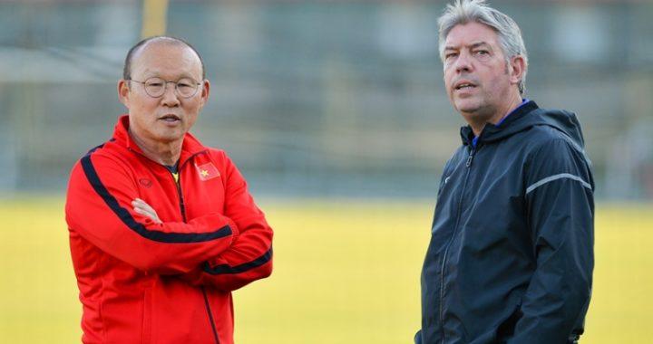 HLV Park Hang Seo phối hợp với GĐKT Gede tuyển quân U23 VN