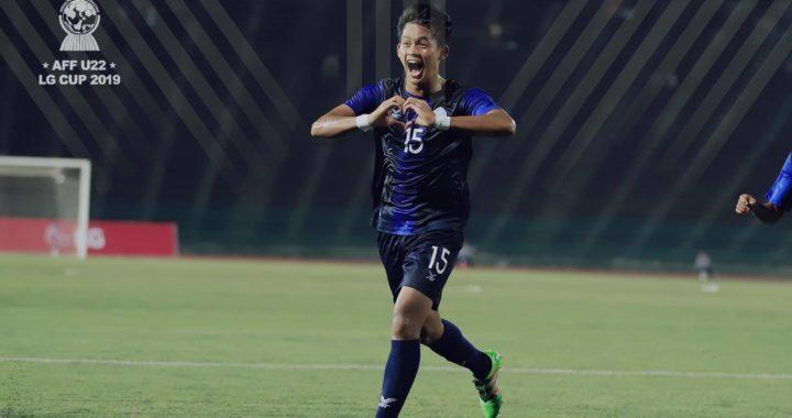 Đả bại U22 Myanmar, Campuchia giành vé đi tiếp với ngôi nhất bảng