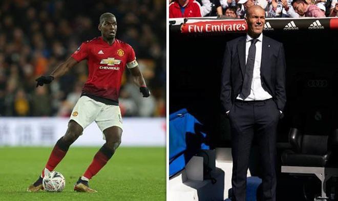 """Choáng váng MU: Pogba """"phản bội"""", đồng ý sang Real Madrid làm trò Zidane"""