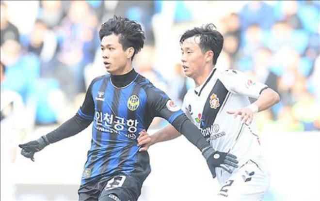 Sangju Sangmu – Incheon United: Công Phượng xuất trận phút 66, hai đòn chí tử