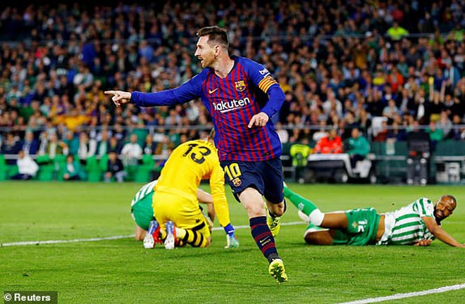 Real Betis – Barcelona: Hat-trick đẳng cấp, cơn mưa siêu phẩm