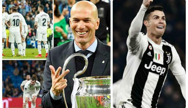 Real mơ tái hợp Ronaldo: Trở về giúp Zidane nếu vô địch C1 cùng Juventus?