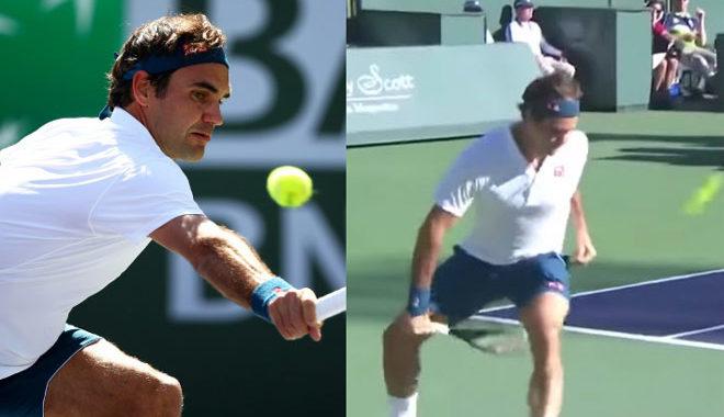 """Siêu phẩm Indian Wells: Federer tung hết """"bài tủ"""" vẫn dính đòn kết liễu"""