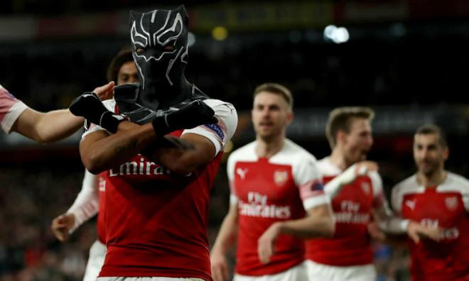 """Arsenal – Rennes: Chiến binh """"báo đen"""" rực sáng, 3 đòn ngược dòng"""