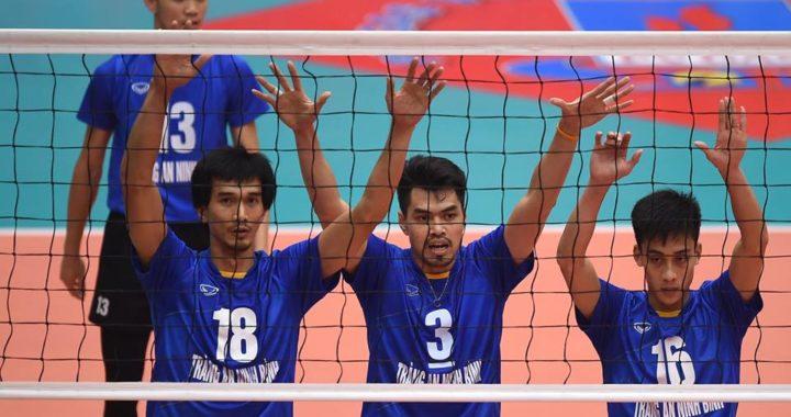 Lịch thi đấu Giải bóng chuyền nam tranh Cup Hoa Lư 2019