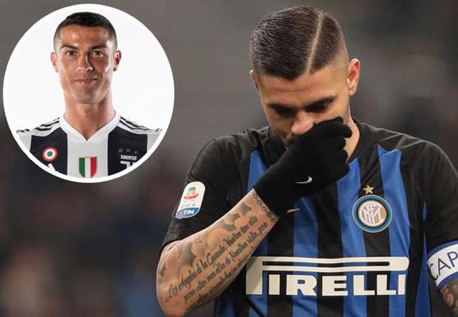 """Icardi thành """"cừu đen"""" tại Inter: """"Bom tấn"""" đợi Real, MU, Chelsea"""
