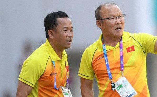 Lê Huy Khoa trở lại làm trợ lý cho HLV Park Hang Seo