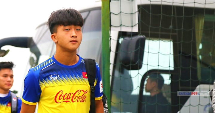 Trần Danh Trung: 'Quân bài trong tay áo' của HLV Park Hang-seo