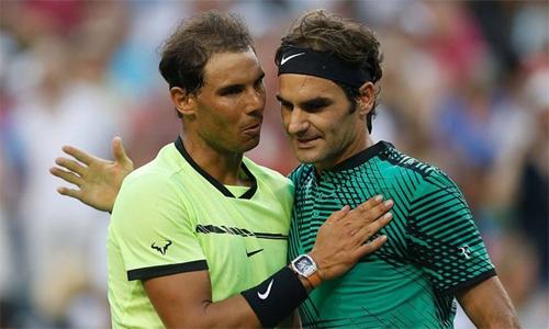 Federer cùng nhánh Nadal ở Indian Wells