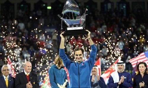 Federer đoạt danh hiệu ATP thứ 100