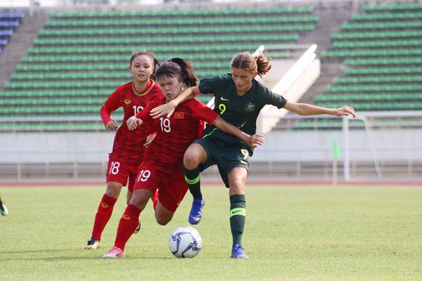 Thua phút cuối, U16 nữ Việt Nam chưa có vé đi tiếp ở giải châu Á