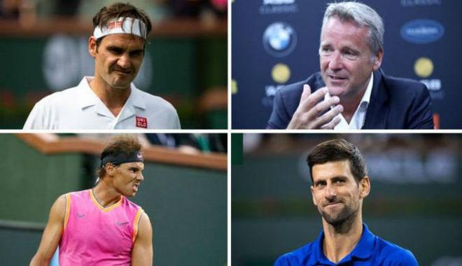 """Đua ghế """"ông trùm"""" tennis cực nóng: Sau Nadal, Federer """"dằn mặt"""" Djokovic"""