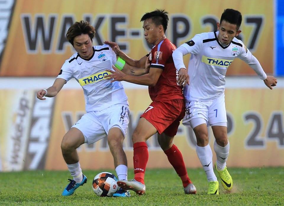 BXH V-League hôm nay: Thất vọng HAGL, Thể Công chiến thắng