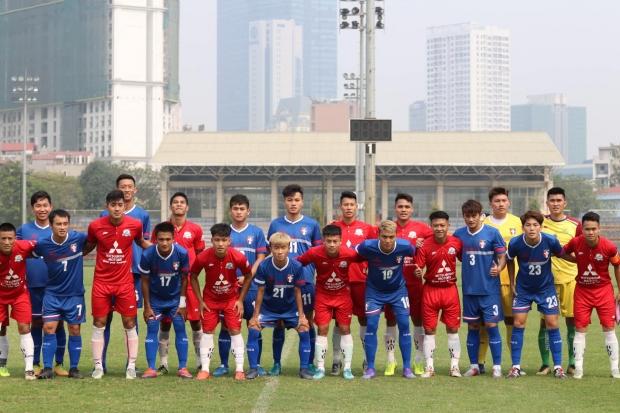 'Quân xanh' của thầy Park để thua đội hạng dưới V.League