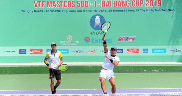 Xác định xong 2 cặp chung kết đôi giải VTF Masters 500 -1-Hải Đăng Cup 2019
