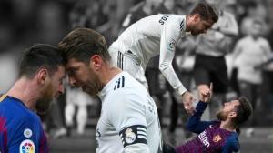 Ramos chơi xấu khiến Messi nổi giận, HLV Mourinho nói gì?