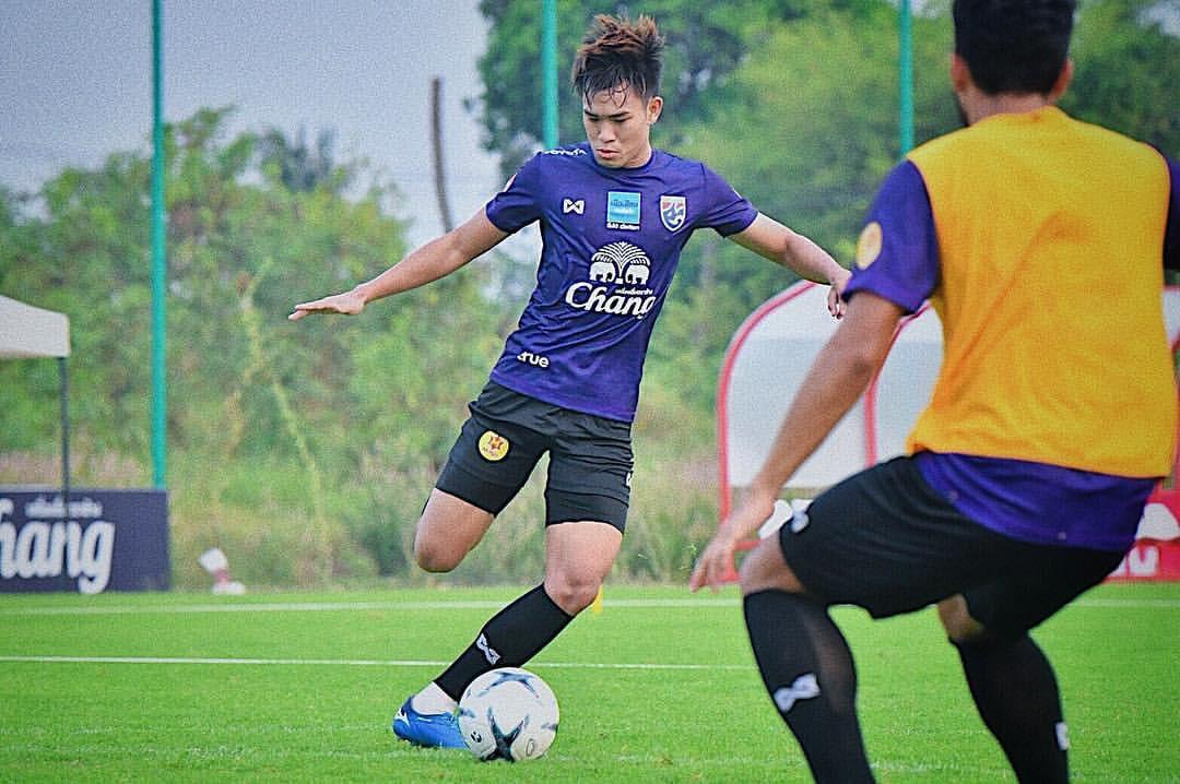 """Tiền vệ U23 Thái Lan: """"Việt Nam tiến bộ nhưng vẫn chưa đuổi kịp chúng tôi"""""""