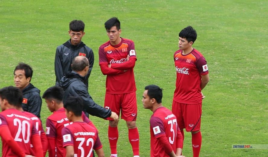HLV Park Hang-seo loại Tiến Linh khỏi ĐT U23 Việt Nam