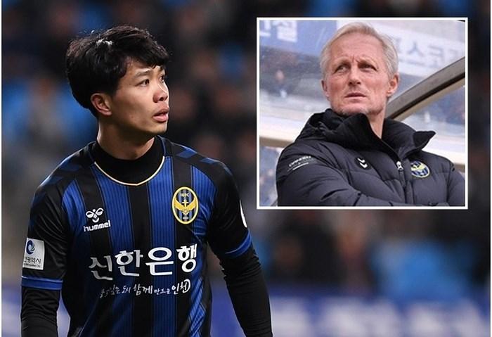 Công Phượng sẽ ra sao khi HLV Incheon United từ chức?