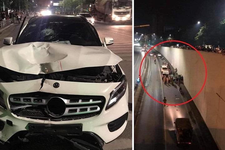 Mercedes đâm chết ở Hà Nội xót xa trước gia cảnh nạn nhân