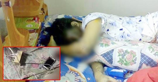 Người thật việc thật: Thanh niên 21 tuổi tử vong do nằm cạnh điện thoại đang sạc