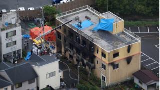 Bất ngờ xưởng phim ở Nhật bị phóng hóa, nhiều người thiệt mạng