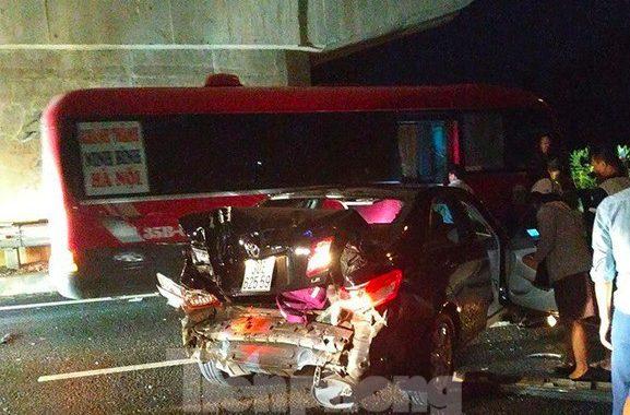 Tai nạn xe liên hoàn trên đường cao tốc Ninh Bình – Cầu Giẽ: Cô gái tử vong trước khi gặp tai nạn