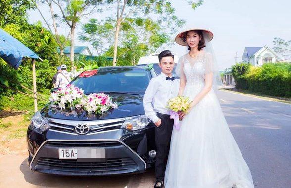 Đám cưới đặc biệt cô dâu 1m94 chú rể 1m4 gây hiếu kỳ cộng đồng mạng