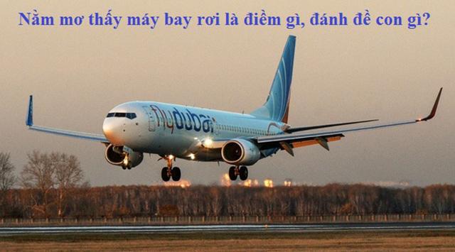 Nằm mơ thấy máy bay rơi